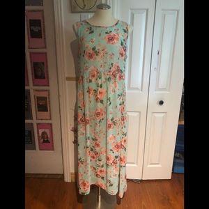 Paisley Sheer Dress